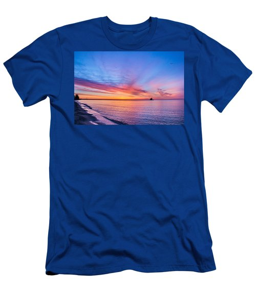 Dreamer's Dawn Men's T-Shirt (Athletic Fit)