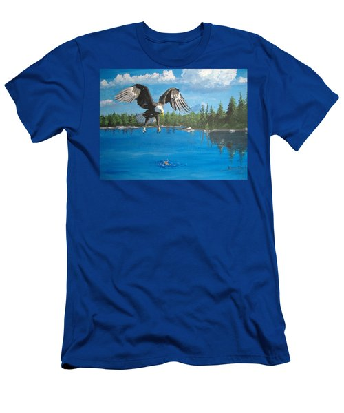 Eagle Attack Men's T-Shirt (Athletic Fit)
