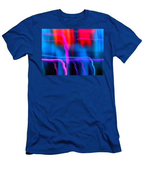 Electric Dance Men's T-Shirt (Athletic Fit)