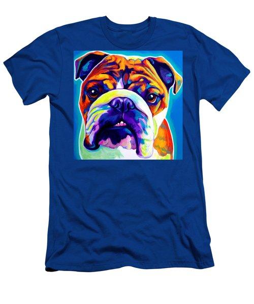 Bulldog - Bond -square Men's T-Shirt (Athletic Fit)