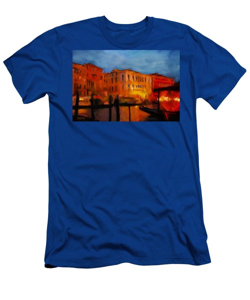 Evening In Venice Men's T-Shirt (Athletic Fit)