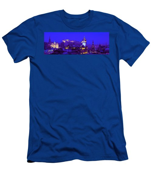Evening, Royal Castle, Edinburgh Men's T-Shirt (Athletic Fit)