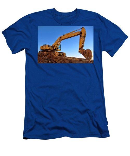 Excavator Men's T-Shirt (Athletic Fit)