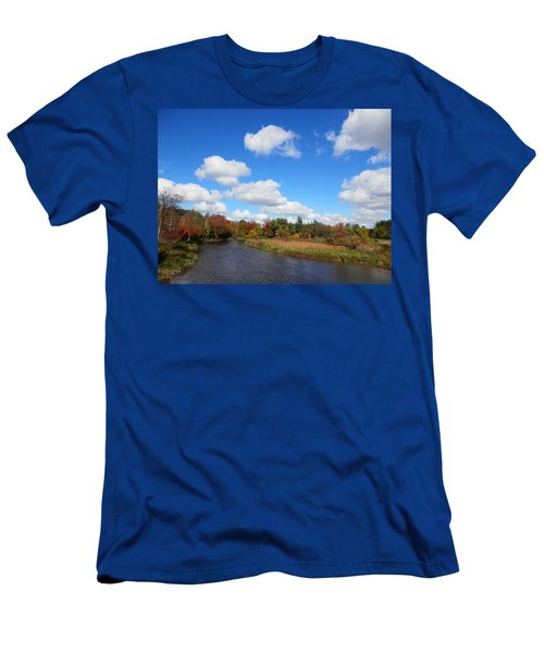 Fall At The Credit River Men's T-Shirt (Athletic Fit)