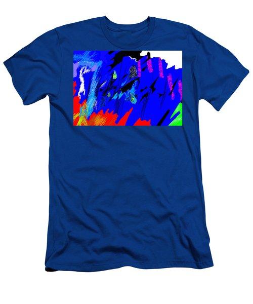 Falling Through Lightness  Men's T-Shirt (Athletic Fit)