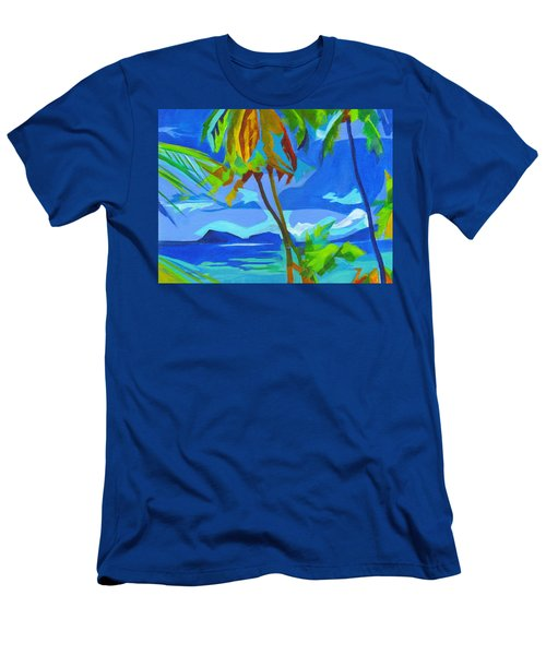 Dream Islands. Maui Men's T-Shirt (Athletic Fit)