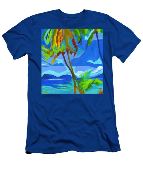 Dream Islands. Maui Men's T-Shirt (Athletic Fit)