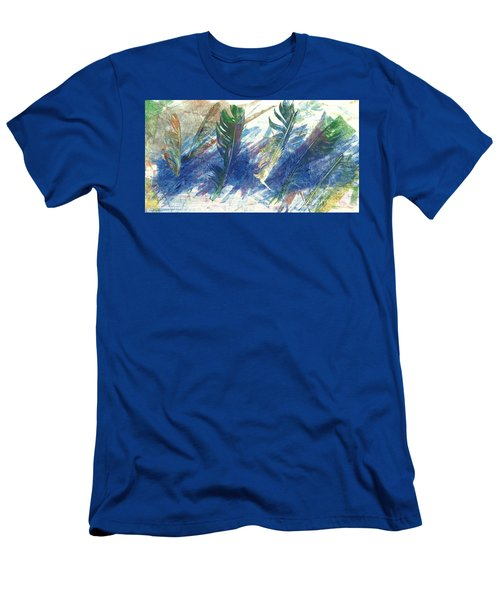 Feather Dance Men's T-Shirt (Athletic Fit)