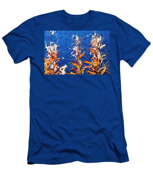 Fireweed Flower Men's T-Shirt (Athletic Fit)