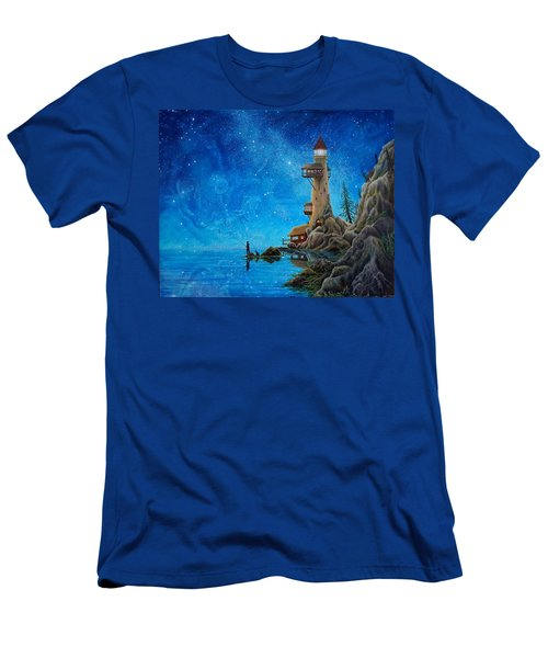 Fishing Men's T-Shirt (Athletic Fit)