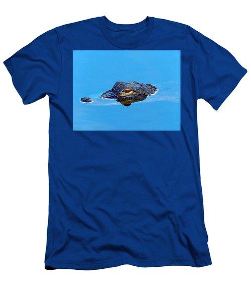 Floating Gator Eye Men's T-Shirt (Athletic Fit)