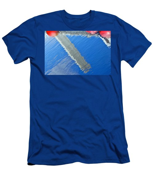 Floridian Abstract Men's T-Shirt (Slim Fit) by Keith Armstrong