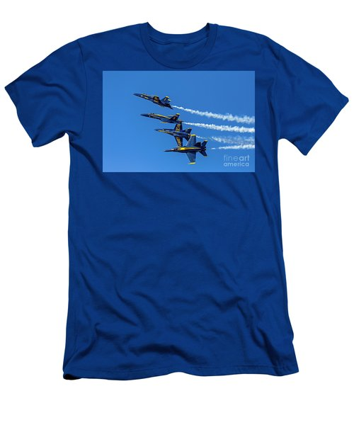 Flying Formation Men's T-Shirt (Athletic Fit)