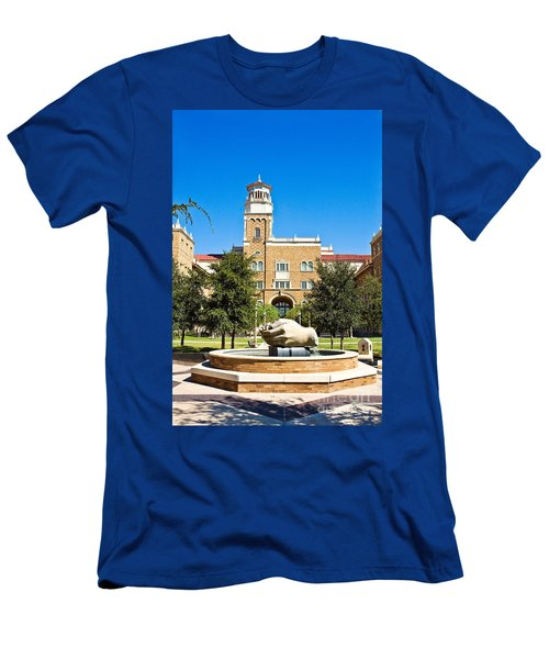 Men's T-Shirt (Athletic Fit) featuring the photograph Fountain Of Knowledge by Mae Wertz