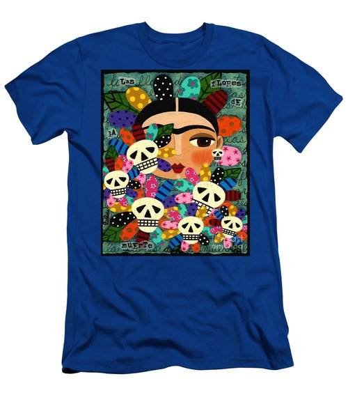 LuLu Mypinkturtle 30 Mens T Shirt Athletic Fit Featuring The Painting Frida Kahlo Day Of