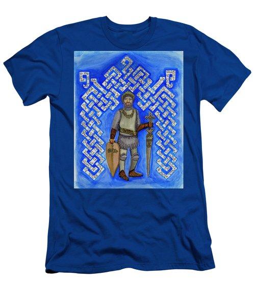 Full Armor Of Yhwh Man Men's T-Shirt (Athletic Fit)