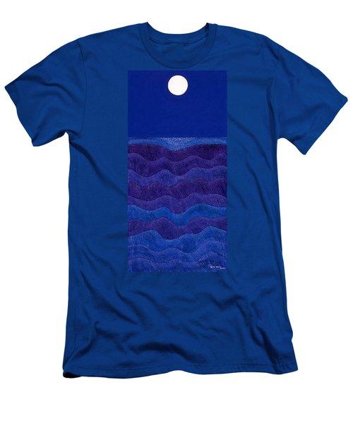 Full Moonscape II Men's T-Shirt (Athletic Fit)