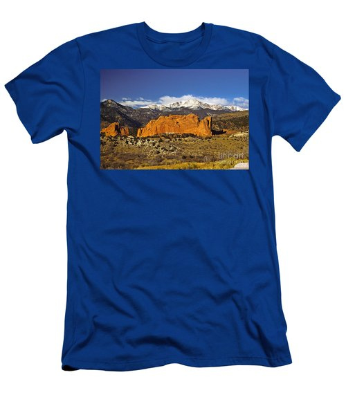 Garden Of The Gods - Colorado Springs Men's T-Shirt (Athletic Fit)