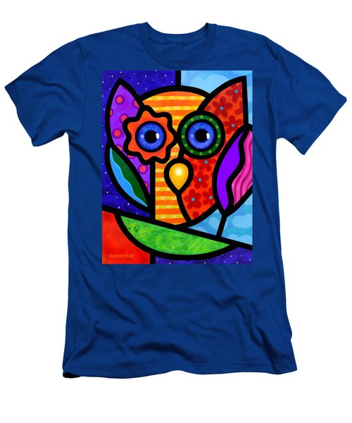 Garden Owl Men's T-Shirt (Athletic Fit)