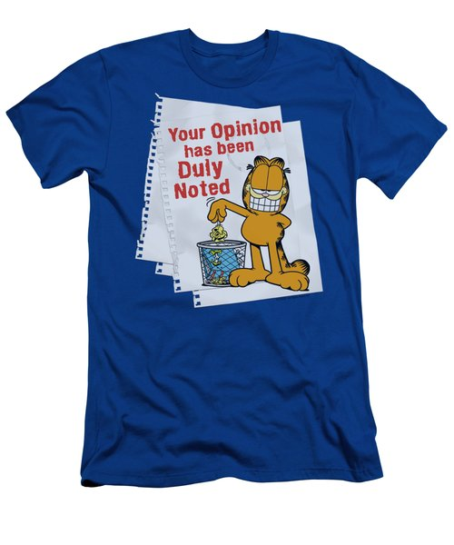 Garfield - Duly Noted Men's T-Shirt (Athletic Fit)