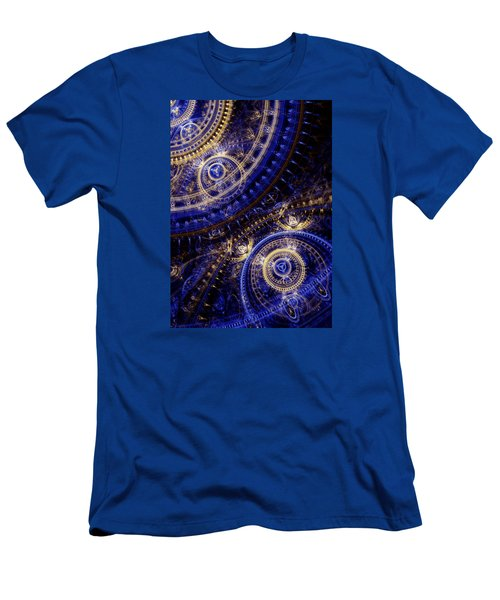 Gears Of Time Men's T-Shirt (Slim Fit) by Martin Capek