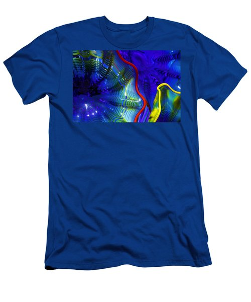 Glass Abstract One Men's T-Shirt (Athletic Fit)