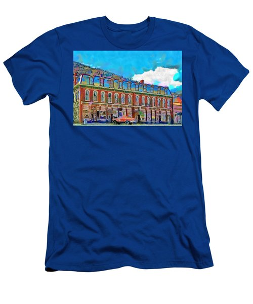 Grand Imperial Hotel Men's T-Shirt (Athletic Fit)