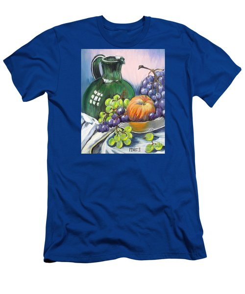Grapes Galore Men's T-Shirt (Slim Fit) by Marilyn  McNish