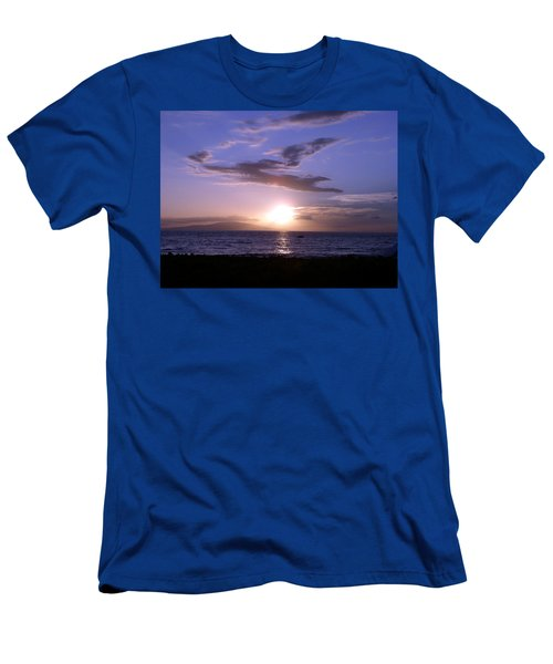 Greyhound In The Sky Men's T-Shirt (Athletic Fit)