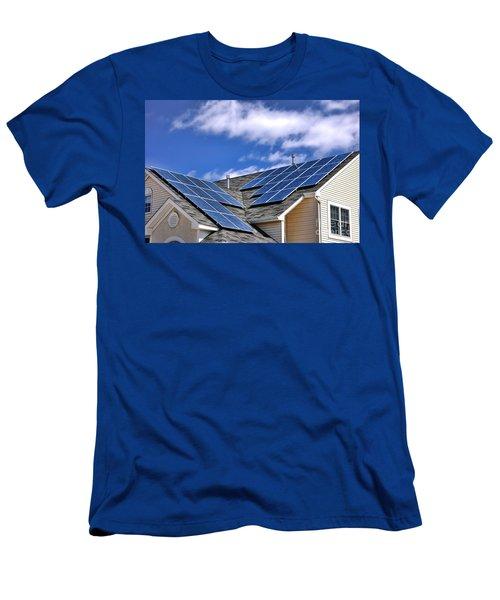 Harvesting The Sun Men's T-Shirt (Athletic Fit)