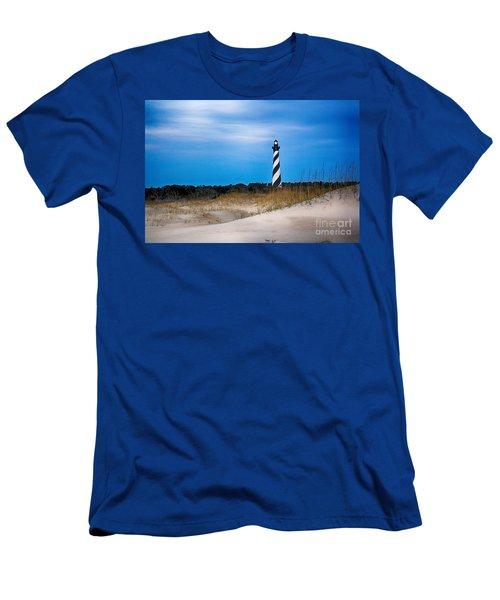 Hatteras Morning Light Men's T-Shirt (Slim Fit) by Tony Cooper