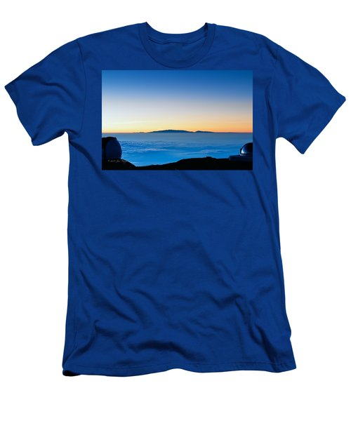 Men's T-Shirt (Slim Fit) featuring the photograph Hawaii Sunset by Jim Thompson