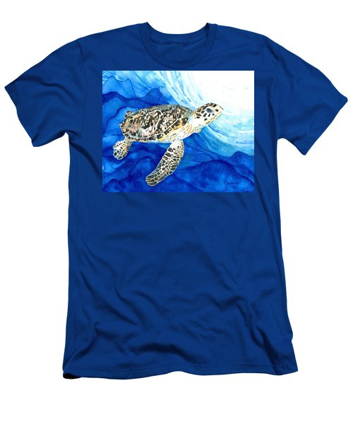 Hawksbill Sea Turtle 2 Men's T-Shirt (Athletic Fit)