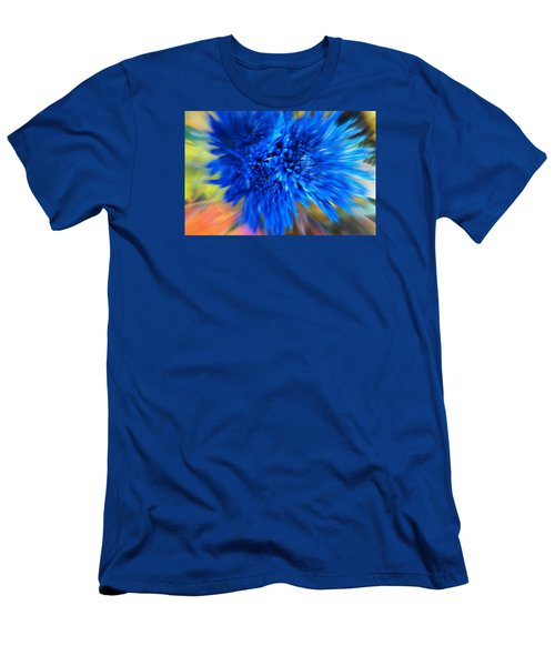 Men's T-Shirt (Slim Fit) featuring the photograph Healing Of A Flower by Sherri  Of Palm Springs
