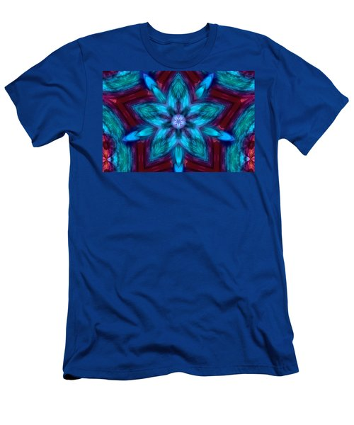 Heart Flower Men's T-Shirt (Athletic Fit)