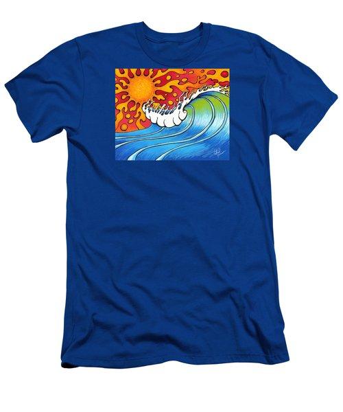 Heat Wave Men's T-Shirt (Athletic Fit)