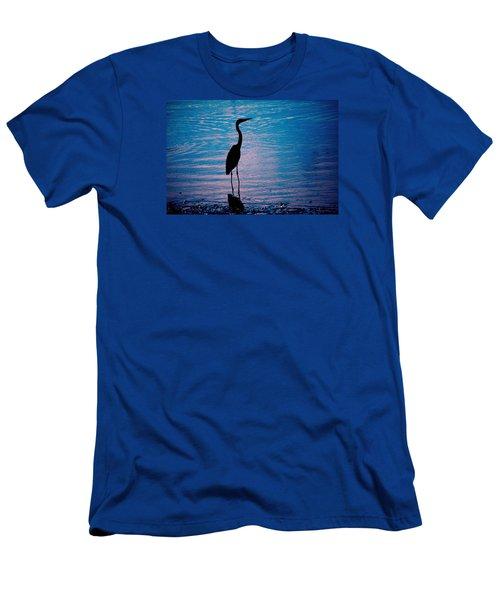 Herons Moment Men's T-Shirt (Slim Fit) by Karol Livote