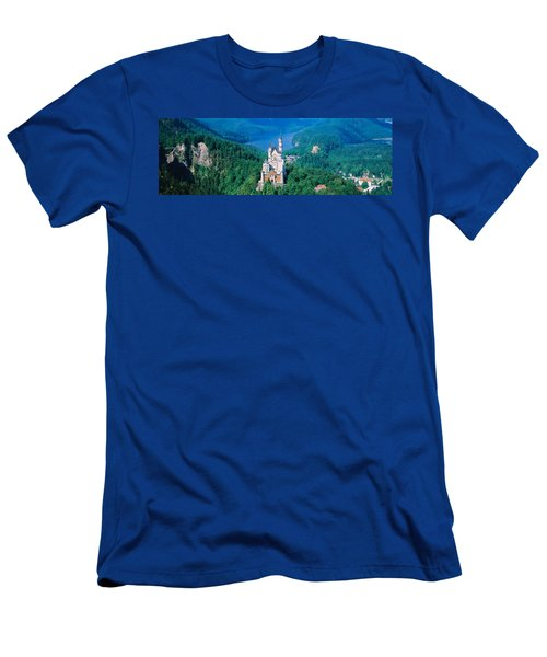 High Angle View Of A Castle Men's T-Shirt (Athletic Fit)