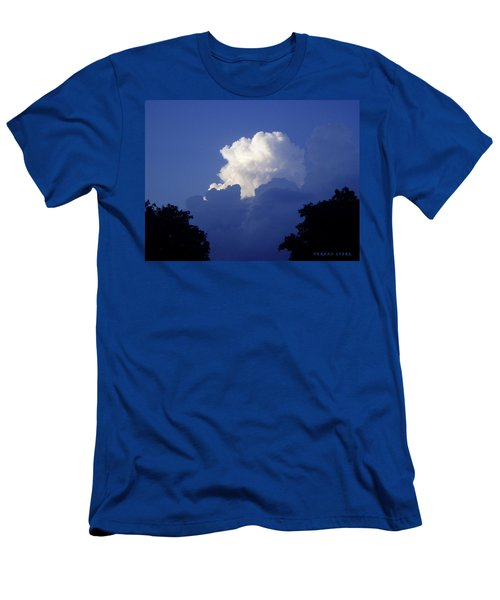 High Towering Clouds Men's T-Shirt (Athletic Fit)