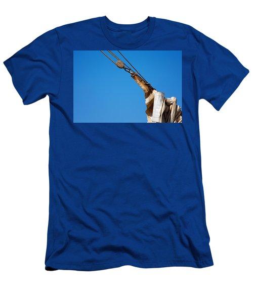 Hoist The Sails. Men's T-Shirt (Athletic Fit)