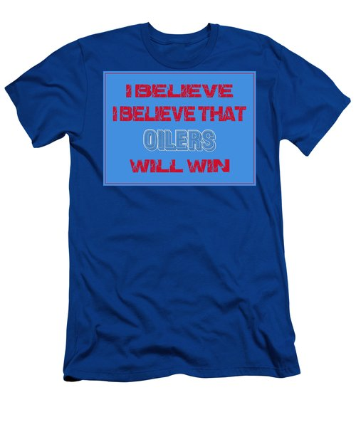 Houston Oilers I Believe Men's T-Shirt (Athletic Fit)