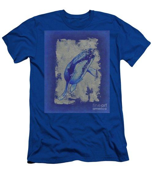 Humpback Whale Men's T-Shirt (Athletic Fit)