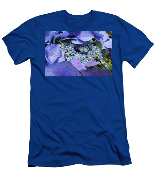 Hydrangea Blossom Men's T-Shirt (Athletic Fit)