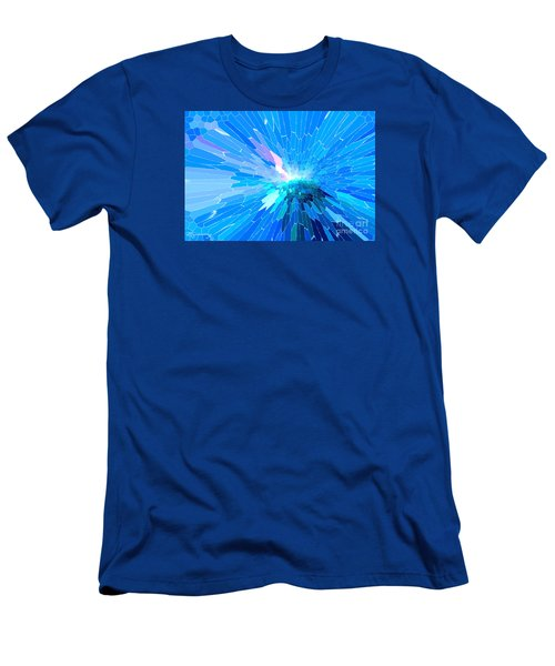 Men's T-Shirt (Slim Fit) featuring the photograph Ice Queen by Mariarosa Rockefeller