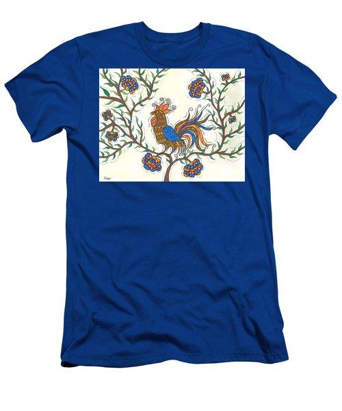 In The Garden - Barnyard Style Men's T-Shirt (Slim Fit) by Susie WEBER