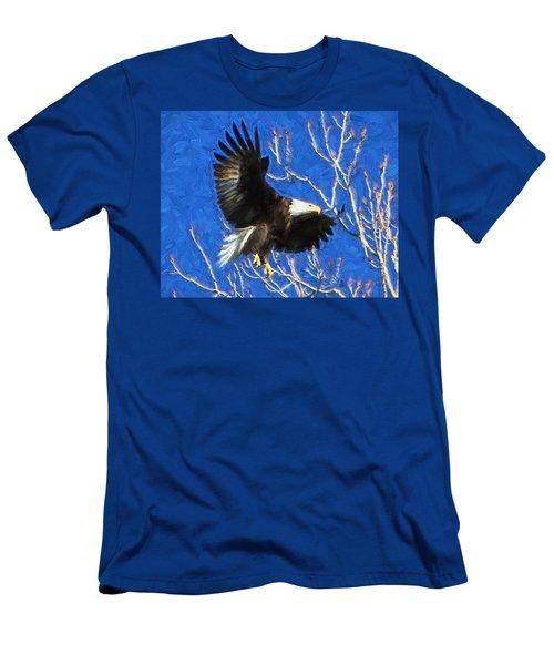 Inbound Eagle Men's T-Shirt (Slim Fit) by John Freidenberg
