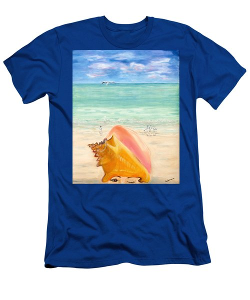 Inside The Head Of A Conch Woman Men's T-Shirt (Athletic Fit)