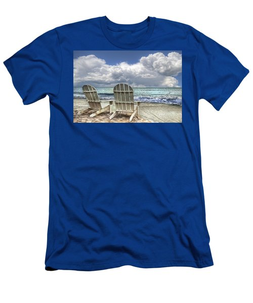 Men's T-Shirt (Athletic Fit) featuring the photograph Island Attitude by Debra and Dave Vanderlaan