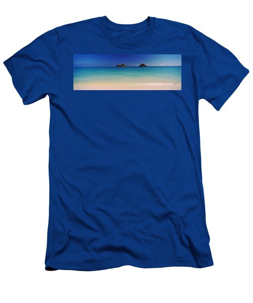 Islands In The Pacific Ocean, Lanikai Men's T-Shirt (Athletic Fit)