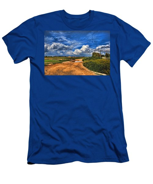Israel End Of  Spring Season  Men's T-Shirt (Athletic Fit)